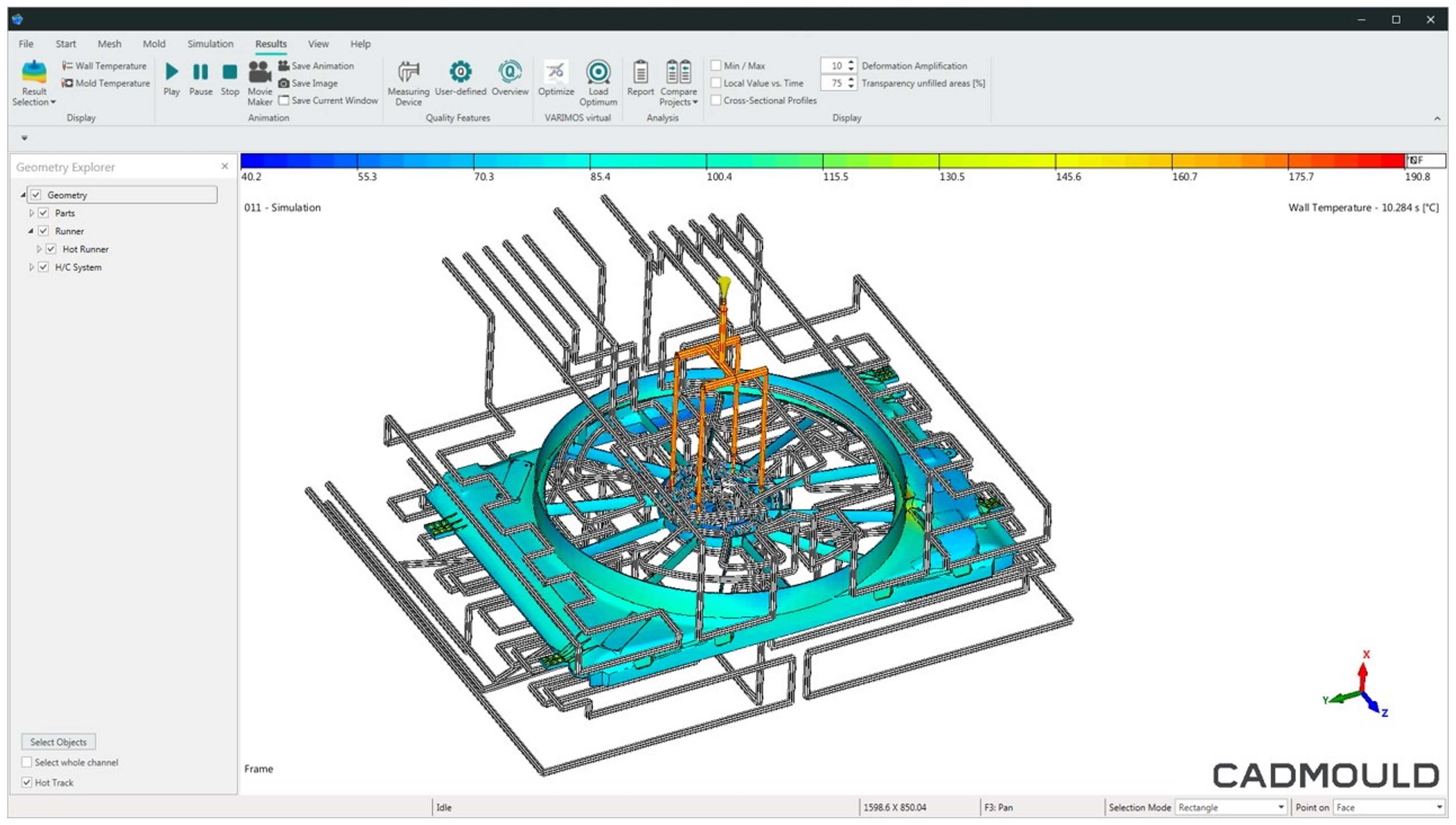 Design thermal system
